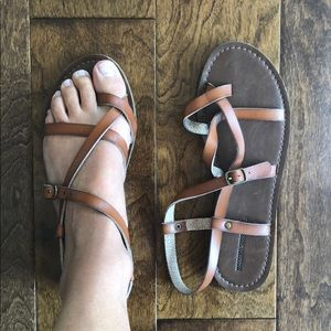Mossimo Supply Co Brown Sandals